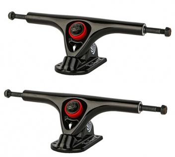 PARIS Longboard Skateboard Achsen V2 Set 150mm / 50° Black/Black (2 Achsen)