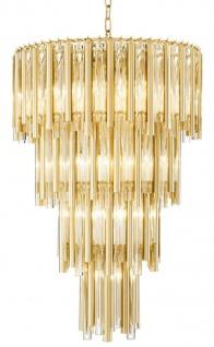 Casa Padrino Luxus Kronleuchter Gold Durchmesser 57 x H. 88 cm - Hotel Möbel