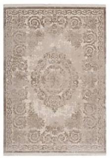 Casa Padrino Luxus Teppich Beige - Verschiedene Größen - Vintage Wohnzimmer Teppich - Luxus Qualität