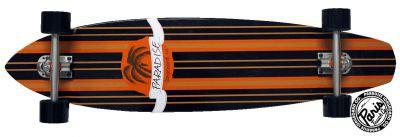 Paradise Tommy 1 Kicktail complete PREBUILT Longboard mit PARIS Achsen - Skateboard Long Board Komplett Komplettboard