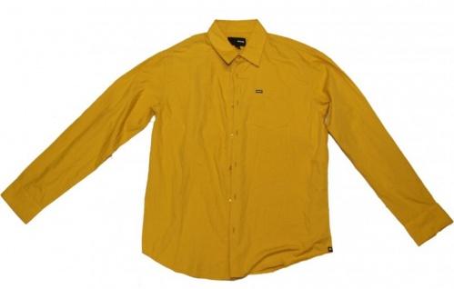 Hurley X Skateboard Hemd Yellow