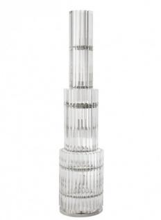 Casa Padrino Luxus Stehleuchte Nickel - Luxury Collection - Vorschau 2