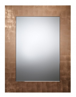 Casa Padrino Luxus Spiegel Kupferfarben 80 x H. 105 cm - Wohnzimmermöbel