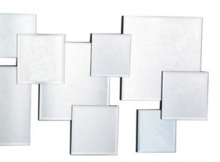 Casa Padrino Designer Spiegel / Wandspiegel Silber 100 x H. 45 cm - Luxus Möbel - Vorschau 3