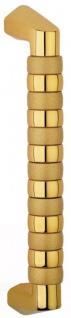 Casa Padrino Luxus Messing Türgriff Set Gold 3, 5 x 33, 5 cm - Hochwertige Messing Türgriffe - Luxus Accessoires