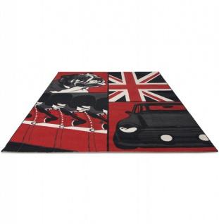 Casa Padrino Designer Teppich 160 x 220 cm Union Jack Bulldog - Läufer - Vorschau 2
