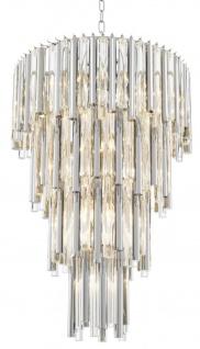 Casa Padrino Luxus Kronleuchter Silber Durchmesser 57 x H. 88 cm - Hotel Möbel - Vorschau 3