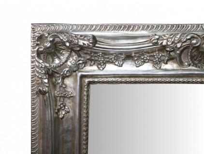 Casa Padrino Barock Wandspiegel Silber Antik-Look Höhe 121 cm, Breite 90 cm - Edel & Prunkvoll - Vorschau 2