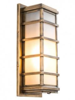 Casa Padrino Luxus 1er Wandleuchte Antik Messing - Luxury Collection