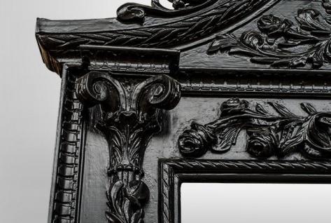 Gigantischer Casa Padrino Barock Spiegel Löwe Schwarz H 270 cm B 165 cm - Edel & Prunkvoll - Vorschau 5