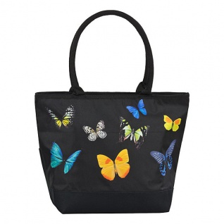 Designer Shoppertasche Schmetterlingstanz - Elegante Tasche - Luxus Design