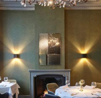 Casa Padrino Luxus Wandspiegel Schwarz 80 x 2 x H. 120 cm - Hotel & Restaurant Spiegel - Luxus Kollektion - Vorschau 4
