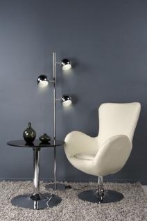Casa Padrino Designer Sessel Creme - Lounge Sessel - Büro Sessel - Vorschau 2