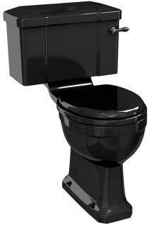Casa Padrino Luxus Jugendstil WC mit Spülkasten 52 x 73 x H. 78 cm - Verschiedene Farben - Badezimmer Möbel - Luxus Qualität