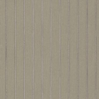 Casa Padrino Barock Textiltapete Grau / Grün 10, 05 x 0, 53 m - Deko Accessoires im Barockstil