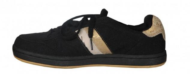 Etnies Skateboard Damen Schuhe Dublin Black/Gold sneakers shoes - Vorschau 2