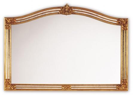 Casa Padrino Barockstil Wandspiegel Gold 129 x H. 89 cm - Hotel & Restaurant Möbel
