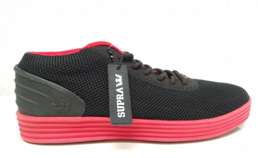 SUPRA Skateboard Schuhe Cuttler Low Black/Red