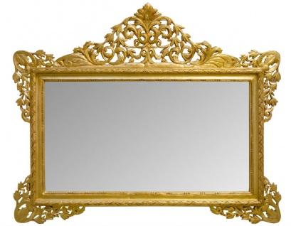 Casa Padrino Antik Stil Wandspiegel Gold 190 x H. 155 cm - Limited Edition