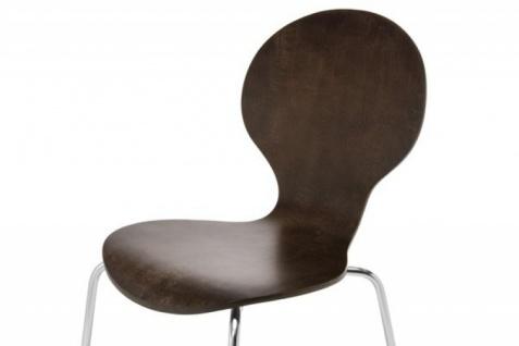 Casa Padrino Designer Stuhl Form Coffee 13 - Vorschau 2