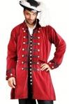 Captain Benjamin Piraten Mantel - Red