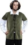 Medieval Piraten / Mittelalter Weste - Green