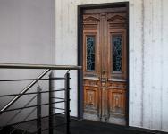 Tür 2.0 XXL Wallpaper für Türen 20009 Berlin - selbstklebend- Blickfang für Ihr zu Hause - Tür Aufkleber Tapete Fototapete FotoTür 2.0 XXL Vintage Antik Stil Retro Wallpaper Fototapete
