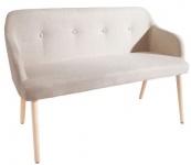 Casa Padrino Designer Sitzbank Natur Breite 116 cm, Höhe 80 cm