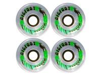 Big Foot Longboard Wheels Klar 70mm/78a Rollen Skateboard Wheel Set