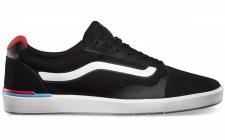 Vans Skateboard Schuhe Locus Black/Red - Sneaker Skate Shoes Sneakers