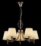 Casa Padrino Barock Decken Kronleuchter Bronze 62 x H 43 cm Antik Stil - Möbel Lüster Leuchter Hängeleuchte Hängelampe