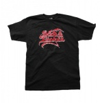 Emerica Skateboard T-Shirt Black/Red