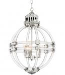 Casa Padrino Luxus Kronleuchter Durchmesser 43 x H. 64 cm - Möbel Lüster Leuchter Hängeleuchte Hängelampe