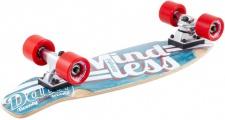 Mindless Stained Daily Oldschool Skateboard Wood Cruiser Komplettboard - Old School Complete Skateboard mit Koston Kugellagern