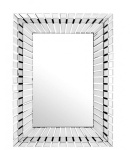 Casa Padrino Designer Luxus Spiegelglas Wandspiegel 90 x H 120 cm - Luxus Hotel Spiegel