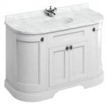 Casa Padrino Waschschrank mit Marmorplatte und 4 Türen - Jugendstil Design