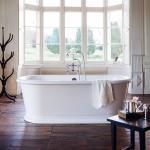 Casa Padrino Badewanne freistehend 1800mm BLonR Weiß - Freistehende Retro Antik Badewanne