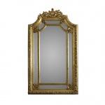 Casa Padrino Luxus Wandspiegel 115 x H. 215 cm - Barock Spiegel