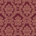 Casa Padrino Barock Viscose Textiltapete / Stofftapete Rot - 10, 05 x 0, 53 m - Tapete im Barockstil