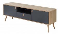 Casa Padrino Designer Fernsehschrank - Sideboard 150cm x 40cm x H.55cm - Konsolen Tisch - Hotel Möbel