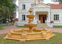 Casa Padrino Barock Springbrunnen / Gartenbrunnen Ø 490 x H. 280 cm - Edel & Prunkvoll