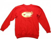 BLESSES Skateboard Sweater Red - Hip Hop Style