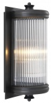 Casa Padrino Luxus Wohnzimmer Wandlampe Bronze 13 x 11 x H. 29 cm - Hotel Möbel