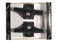 Krown Skateboard Achsen Set 5.0 Schwarz (2 Achsen)