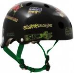 Slamm Skateboard / Scooter Sticker Schutz Helm Bmx, Inliner, Longboard Helm - Skateboard Schutzausrüstung