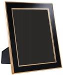 Casa Padrino Tisch-Bilderrahmen 6er Set Schwarz / Gold 25 x H. 30, 5 cm - Luxus Deko Accessoires