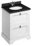 Casa Padrino Waschschrank / Waschtisch mit Granitplatte und 2 Schubladen - Limited Edition