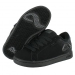Adio Skateboard Schuhe-- Eugene Re 2 Kids-- Black/Black