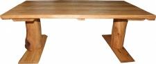 Casa Padrino Vintage Esstisch Eiche Rustikal Massiv 200 x 100 cm Mod TR1 - Landhaus Stil Tisch massives Eichenholz