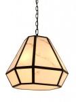 Casa Padrino Luxus Laterne - Luxus Hängeleuchte Schwarz Durchmesser 50 x H 45 cm